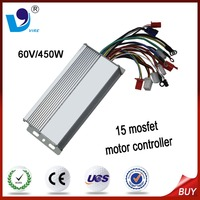 60V 450W the best dc speed motor controller for electric tricycle 15 mosfet