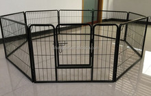 Heavy Duty Dog Kennel Lock Pet Playpen With Shade Cover
