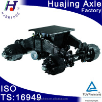 discounting fine price trailer leaf spring 28T bogie suspension