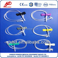 Disposable Lure Lock and Lure Slip Butterfly Needle