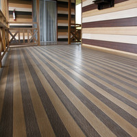 recycled wood and plastic composite pvc vinyl flooring