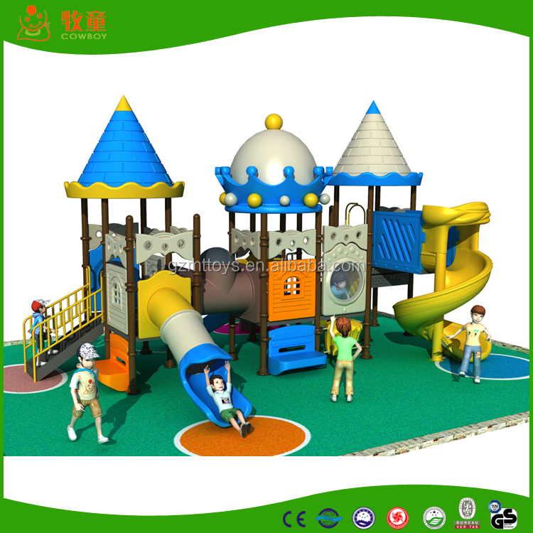 2015 China Guangzhou the new large attractive used kids outdoor playground equipment for sale