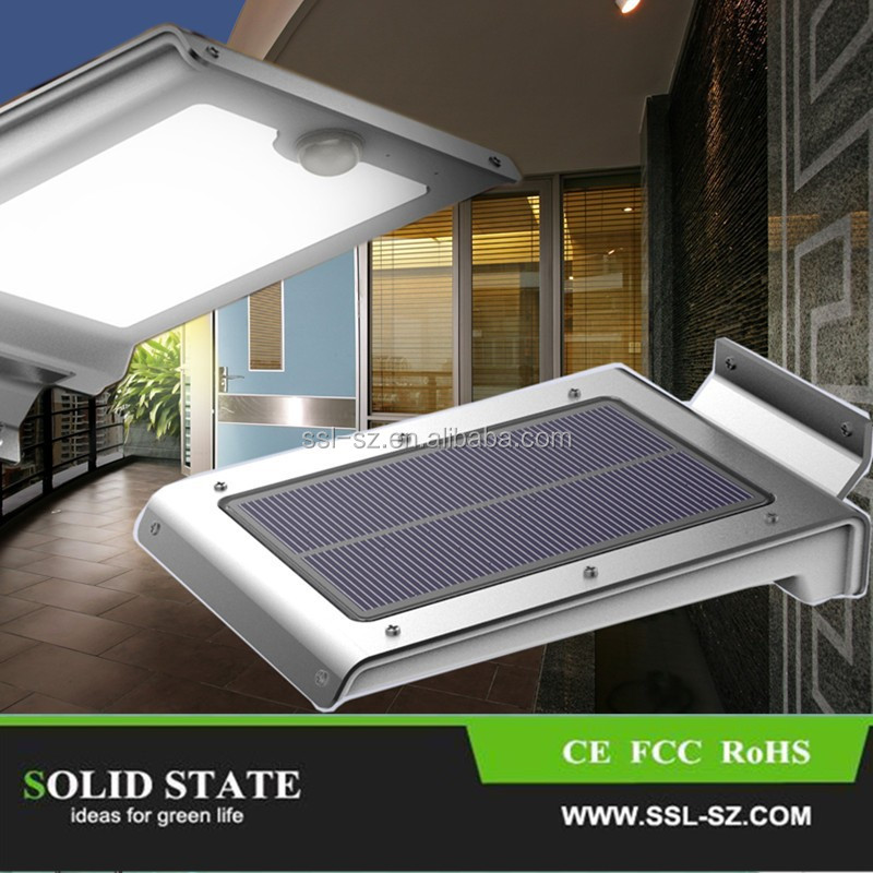 Hot Selling 46 PCS LED 260LM Outdoor Garden Solar Wall Light solar garden led light