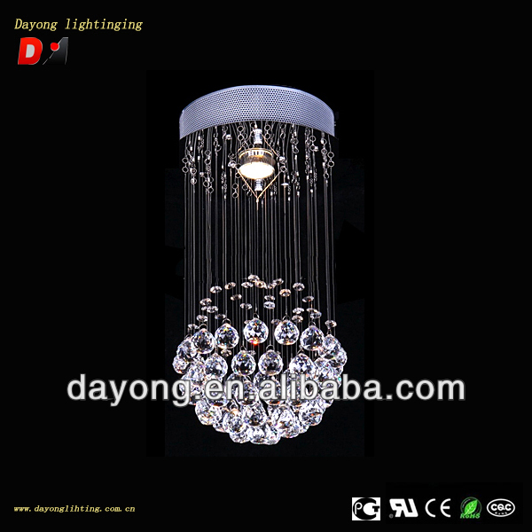 Crystal Chandelier, Residential Lighting, Pendent Lamp Model: DY001