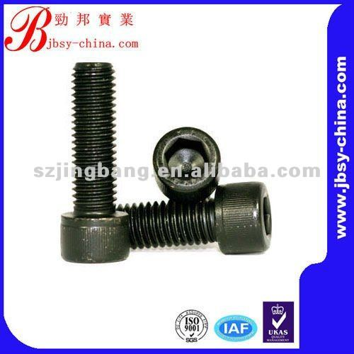 Black anodized round head oval neck bolt round head bolt