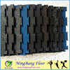 Interlocking rubber flooring for playschool/gym/children playground