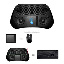 High Quality USB 2.4G Wireless Keyboard With Touchpad Air Mouse Android PC Smart TV Keyboard