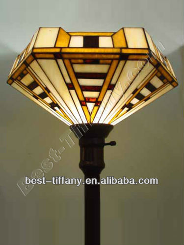 Louis Comfort Tiffany style Torchiere lamp *FLT060