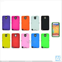 Robot Matte TPU + PC Dual Shell Hard Case Cover for New SAMSUNG Galaxy Note 3 N9000 P-SAMN9000HCSO004