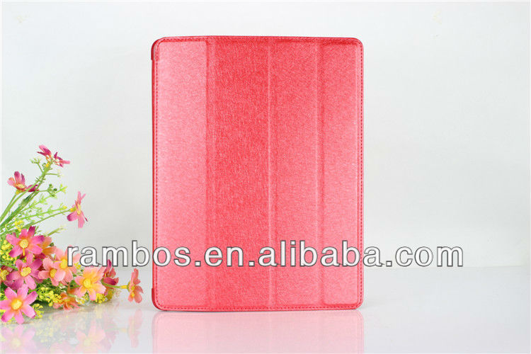 Folder Leather Case Smart Tablet Protective Case Folder Cover case for iPad 2 3 4
