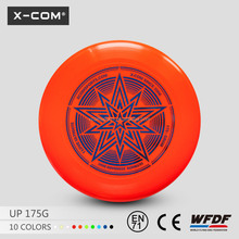 X-COM Ultimate Frisbee Disc 175 gram EN71 passed PE Plastic Custom Flying Disc Toy