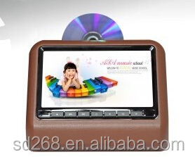 New products dvd 2015 headrest dvd 7 inch dvd back seat tv for car