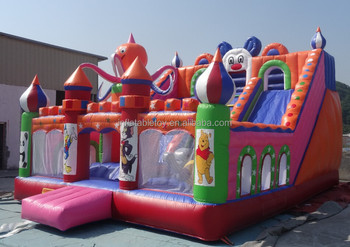 2015 new design inflatable trampolines from china