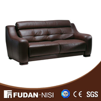 Living room genuine leather sofa FMA080 Daniel