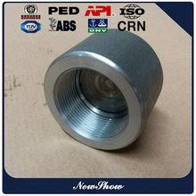 asme b16.11 forged pipe fittings female screw threaded end cap