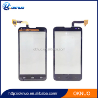 touch display glass screen black color for fly iq4415 touch display