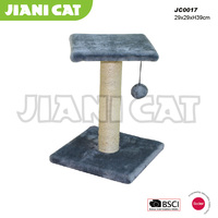 wholesale,hand made,high quality,grey color,pet accessory of cat scratcher