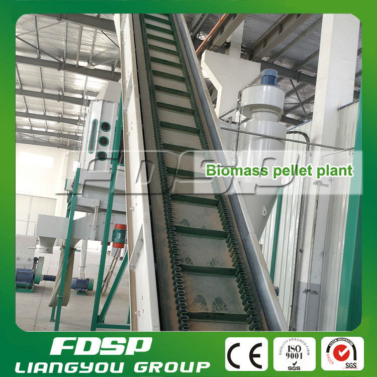 Hot Sale Biomass Wood/Rice Husk/Coconut Fiber/ EFB Pellet Production Line Made In China 3Ton/H