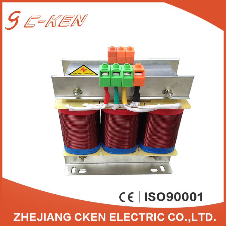 Cken Electrical Supplies Oil Imersed High Frequency Three Phase Power Voltage Transformer