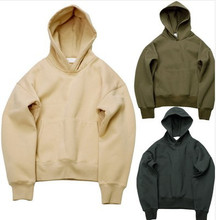 Factory directly supply price Very good quality men hip hop fleece oversized kanye hoodies with high quality