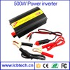 Top selling dc to ac 12v 220v 500W solar car power inverter