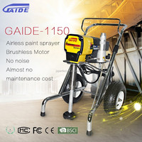 GAIDE-1150 brushless motor wall airless pant sprayer machine