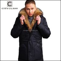 New fashion casual man down feather coats wholesale high quality loose winter coats