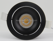 dim to warm 8w 13w 15w cob led downlight 0-100% dimmable with high cri 99 83mm cut hole