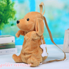 popular fashion kids mini lovely bag plush animal shape dog backpack