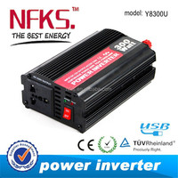 CHEAPEST MINI 300w portable power inverter dc 12v 24v ac 100V 120V 220v 240v modified sine wave USB