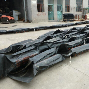 Flexible Fast Deployment Rubber PVC oil Containment Boom Floating Barriers for Sargassum & Seaweed