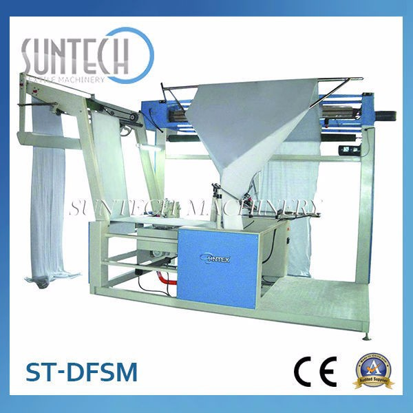 Electric Double Folding and Sewing Machine for Knitting Fabric