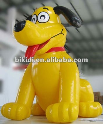 inflatable advertising cartoon,inflatable dog K2001