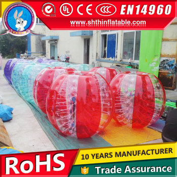 human inflatable bumper bubble ball for sale