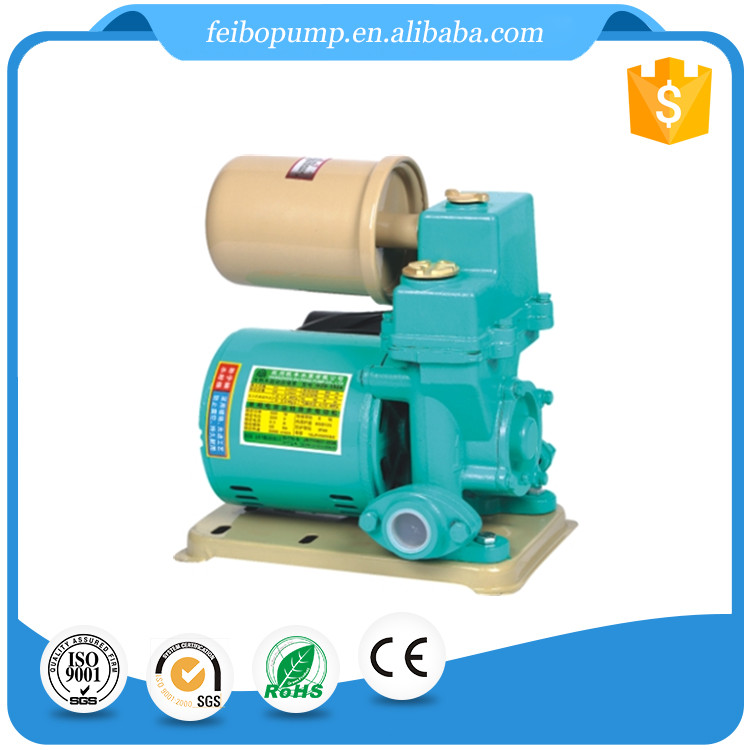Self Priming Hydraulic Pump ac portable small electric centrifugal impeller water pump with motor