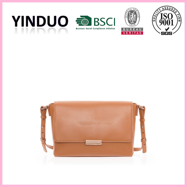 Genuine leather new brand women jute bags with leather handles girl wholesale europe designer full grain camel skin leather bags