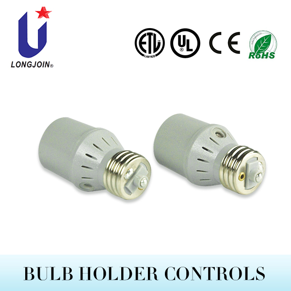 Electronic Switching Incandescent Switch 220v With Remote Control Bulb Holder Control With Cds Sensor