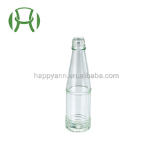 Clear 47ml mustard oil bottle beverage glass bottle