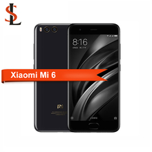 Original Xiaomi Mi 6 5.15 inch IPS Screen Snapdragon 835 Quad Core 4GB RAM 64GB ROM 12.0MP+8.0MP mobile phone