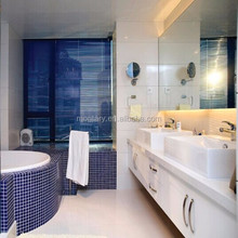 shiny white artificial stone lowes bathroom countertops