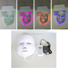 home use cute face mask best red blue green led light mask