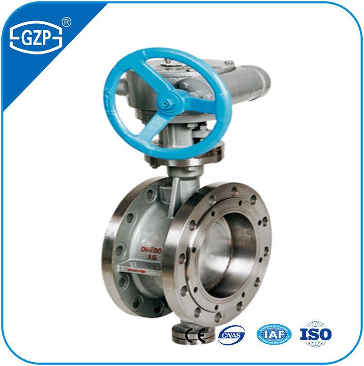 Stainless Steel 304 304L 316 316L Materials RF RJ RTJ Flanged End Butterfly Valve