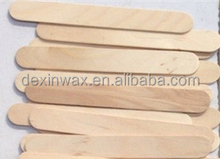OEM type Disposable Wax Waxing Wooden Body Hair Removal Stick Applicator Spatula