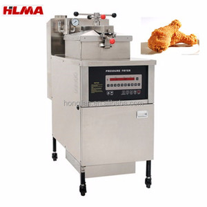Electric chicken broaster pressure deep fryer