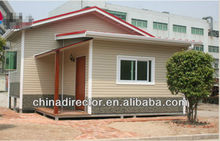 Beautiful prefab resort building,luxury prefab steel villa,steel villa luxury building