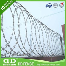 razor barbed wire mesh fence professional coiled cheap razor barbed wire stainless steel razor barbed wire mesh