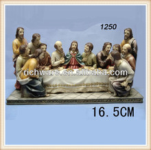 Newest resin religious last supper last dinner home craft