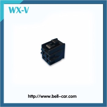 PBT Material 4-pin Female Connector 6098-0514