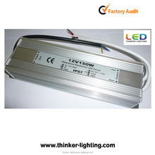 Single output style 150w 200w waterproof electronic led driver