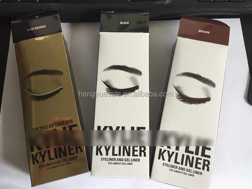 DHL FREE SHIPPING k&y LIE eyeliner and gel liner